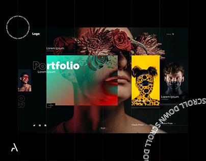 Portfolio Website for Photographer