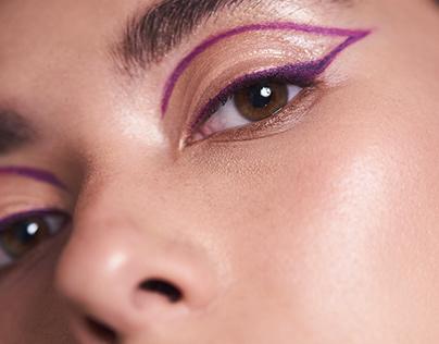 Suzannah Yumi - Purple Outline