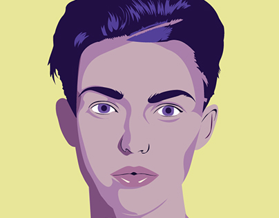 Illustrator Portrait - Ruby Rose