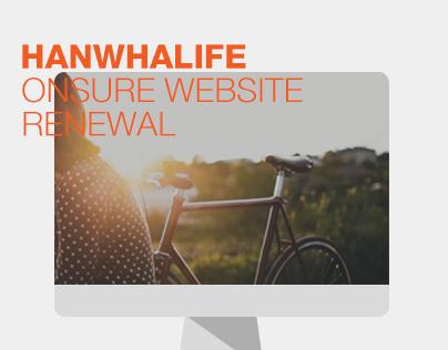 HANWHALIFE ONSURE WEBSITE RENEWAL
