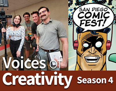 Voices of Creativity Season 4 at SD Comic Fest 2020
