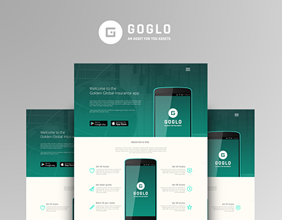 GoGlo App | Landing Page