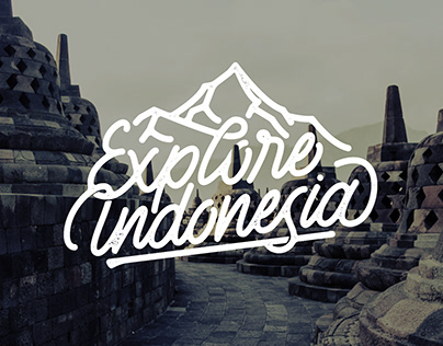 Logotype for Explore Indonesia
