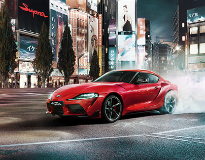 Toyota Supra A90 commercial