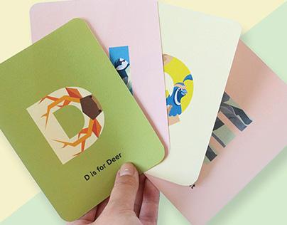 Alphabet Cards for Children
