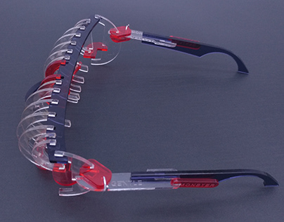 Hand made project -Gentle Monster's sunglasses concept