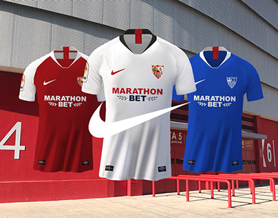 Nike Official Sevilla FC Jersey - Launch 19-20