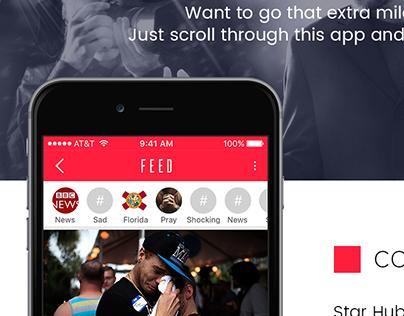 Fan based app UI/UX Design