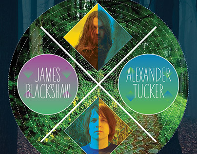 JAMES BLACKSHAW / ALEXANDER TUCKER - Gig Poster