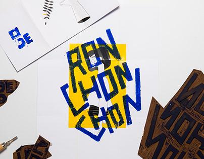 Ronchonchon — Linocut