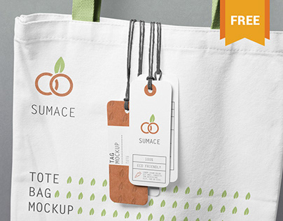 Free Hanging Tags Mockup