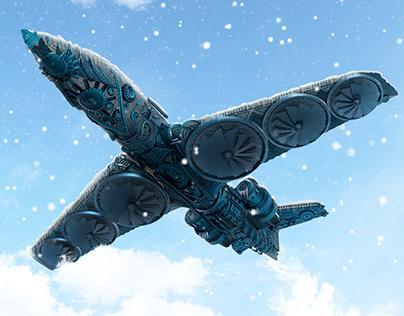 Airplane - Steampunk