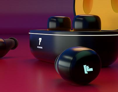 Bluetooth Headsets 3D