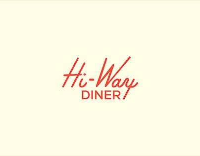 Hi-Way Diner   Restaurant Branding