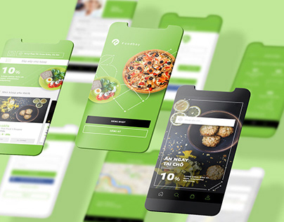 FoodBay - Brand Identity and App