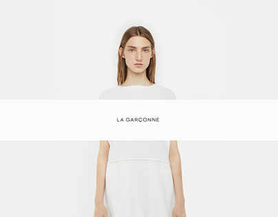 La Garconne E-commerce Website Redesign