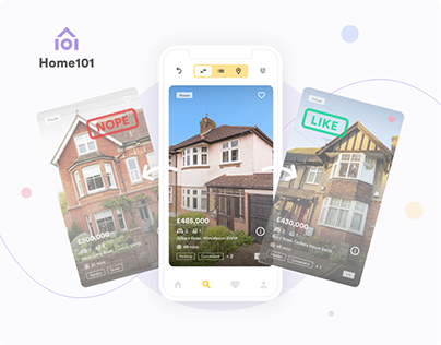 Home101 - Home Searching App UX/UI