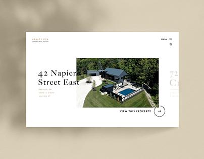 Luxury Real Estate Website