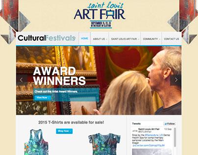 Cultural Festival Website