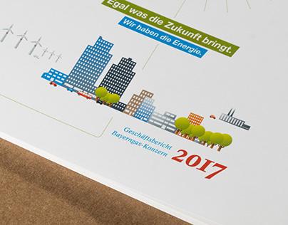 BAYERNGAS GESCHÄFTSBERICHT 2017