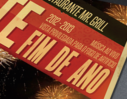 Restaurante Mr.Grill | Special Menus posters