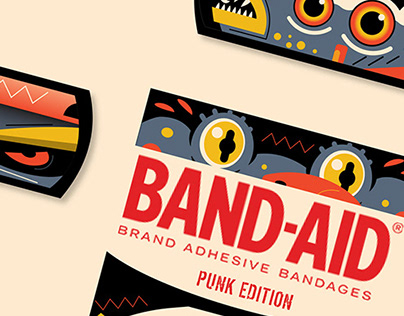 Band-Aid Package: Punk Edition