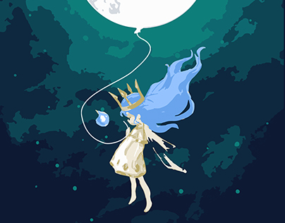 Child of Light - Moon Girl