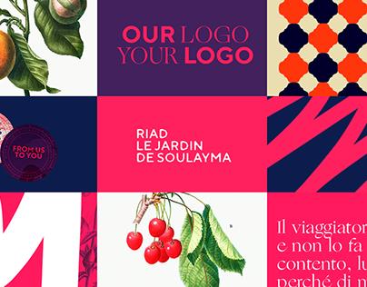 Riad Le Jardin De Soulayma - Branding