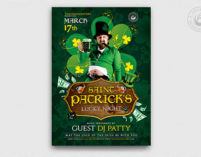 Saint Patrick's Day Flyer Template V1
