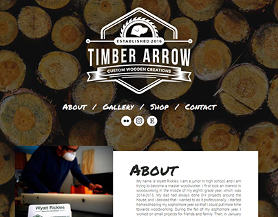 Website - Timber Arrow