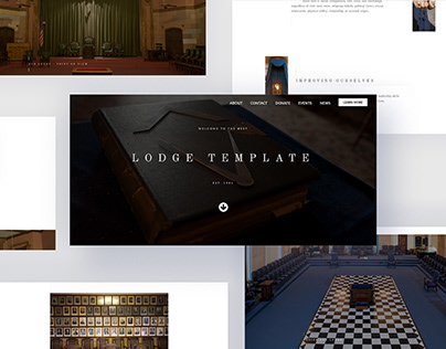 Freemasons Lodge Template