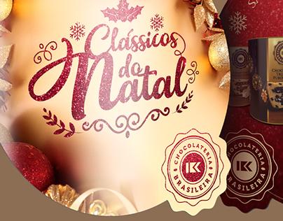 Comunicação Visual Natal 2017 Chocolateria Brasileira