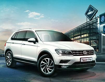 KeyVisual Volkswagen Tiguan City