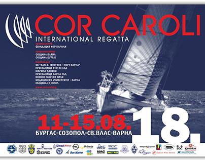 Graphic Identity - Regatta Cor Caroli 2018
