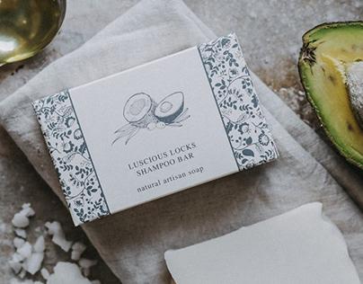 The Dartmoor Soap Company Label Illustrations
