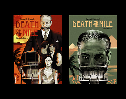 """My posters proposals """"DEATH ON THE NILE"""""""
