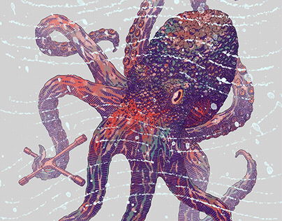 Octopus-of-all-trades poster. 2018