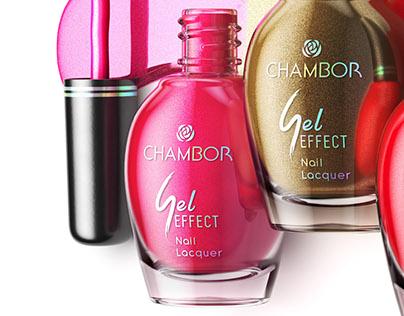 CGI Product Visualization - Chambor Nail Polish