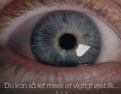 Small lowbudget video ad for Landfotografen.dk