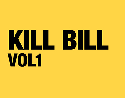 Kill Bill: Vol 1 Opening Credits Sequence