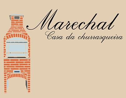 Cartão para Marechal casa da churrasqueira