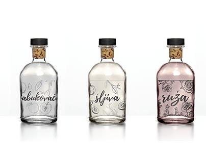 Packaging for rakija's - limited edition.