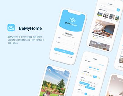 BeMyHome - home rental app