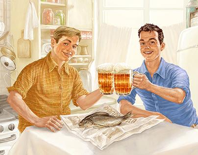 Illustration for Carlsberg