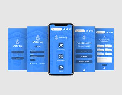 Water Log - Mobile App
