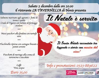 Natale è servito! - Xmas event Flyer