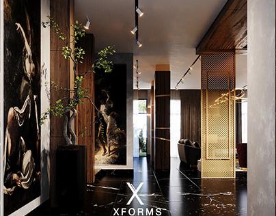 Luxurious contemporary villa