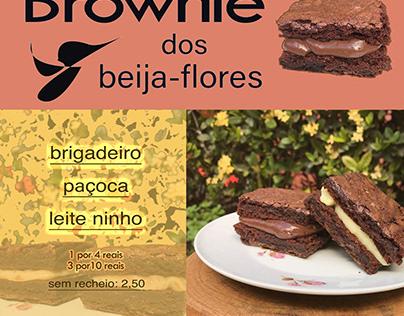 Brownie dos Beija-Flores