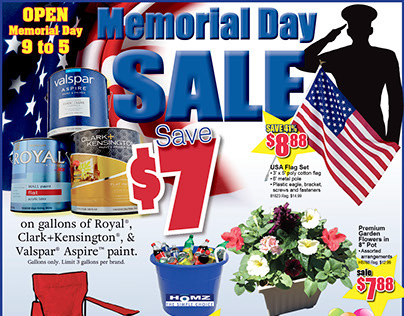 Memorial Day Sale 2015