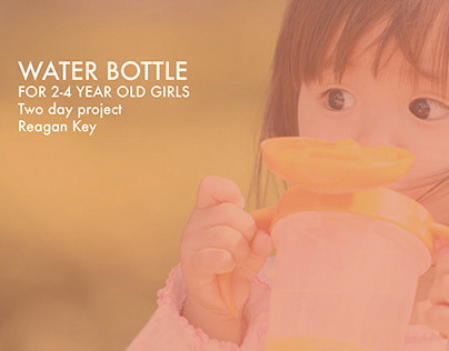 Water bottle for 2-4 year olds